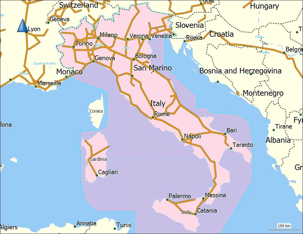 Tramsoft Gmbh Garmin Trekmap Italia V4 Pro English